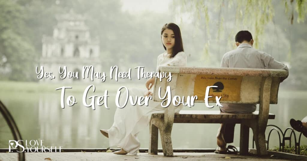 therapy to get over ex